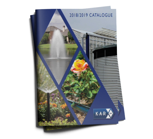 Kar irrigation catalogue