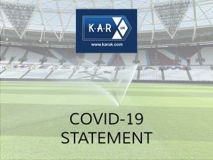 KAR UK Ltd COVID-19 update