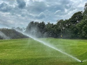 New Hunter Irrigation system makes instant impact at Looe GC